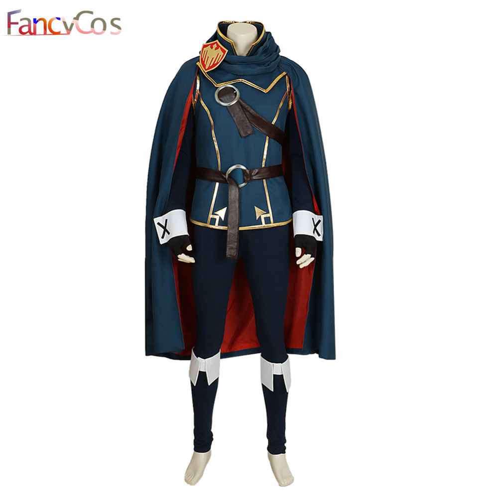Halloween Fire Emblem Awakening Lucina Mask Cosplay Costume Anime Japanese High Quality Deluxe