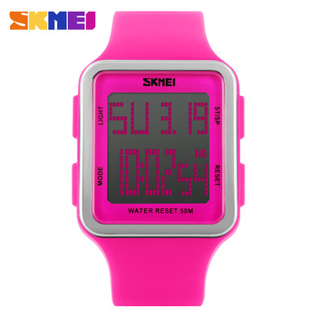 Digital Wristwatches Women Students LED Watch Fashion Casual Outdoor Girls Waterproof Sports Watches Womens Wrist Watches SKMEI 1