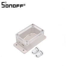 2 PCS Sonoff IP66 Waterproof Cover Case for Sonoff Basic/RF/Dual/Pow/TH16/G1 Smart