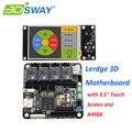 3 DSWAY Lerdge con Termistor 32bit Controlador de Placa Base de La Impresora 3D 4 unids A4988 Apoyo XYZ Delta Corexy Tohb Scara Brazo modelos