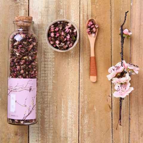 [Каждый день специальные] цветение персика чай травы мойст кишечных стеклянных