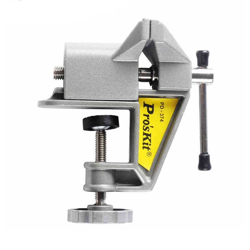 Original Hobby Vise Aluminum Mini-Clamp Work Station (Opening 40mm, Width 60mm) PD-374 паяльник bao workers in taiwan pd 372 25mm