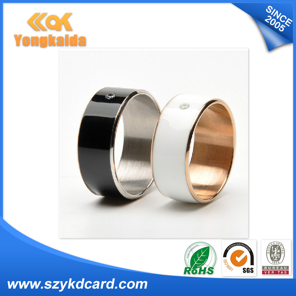 100pcs Creative Gift RFID NFC Ring For Exchange Business card ...