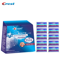 Crest 3D White Whitestrips 7 10 14 20 Pouches Advanced Vivid Professional Teeth Whitening Strips Teeth