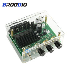 все цены на TPA3116D2 Digital Audio Amplifier Board TPA3116 High Power Stereo Amplifiers Sound Preamplifier Tone Preamp Dual Channel 2*80W онлайн