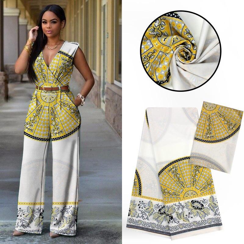 LIULANZHI tissu modal africain imprimé tissu en mousseline de soie audel tissus 4 + 2 yards/lot vêtements africains offre spéciale ML9LL81-87