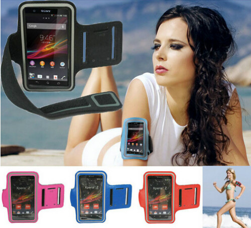 WORKOUT COVER SPORT CASE FOR SONY XPERIA Z5 Z4 Z3 Z2 Z1 ARM BAND ARMBAND COVER HOLDER WATERPROOF RUNNING GYM CASE FOR SONY PHONE