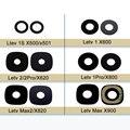 100% Novo Para X500 X600 2 Pro X620 Letv 1 S 1 Pro X800 Max2 X820 Max X900 Tampa de Vidro Traseiro Voltar Camera Lens Vidro Max X900 lente