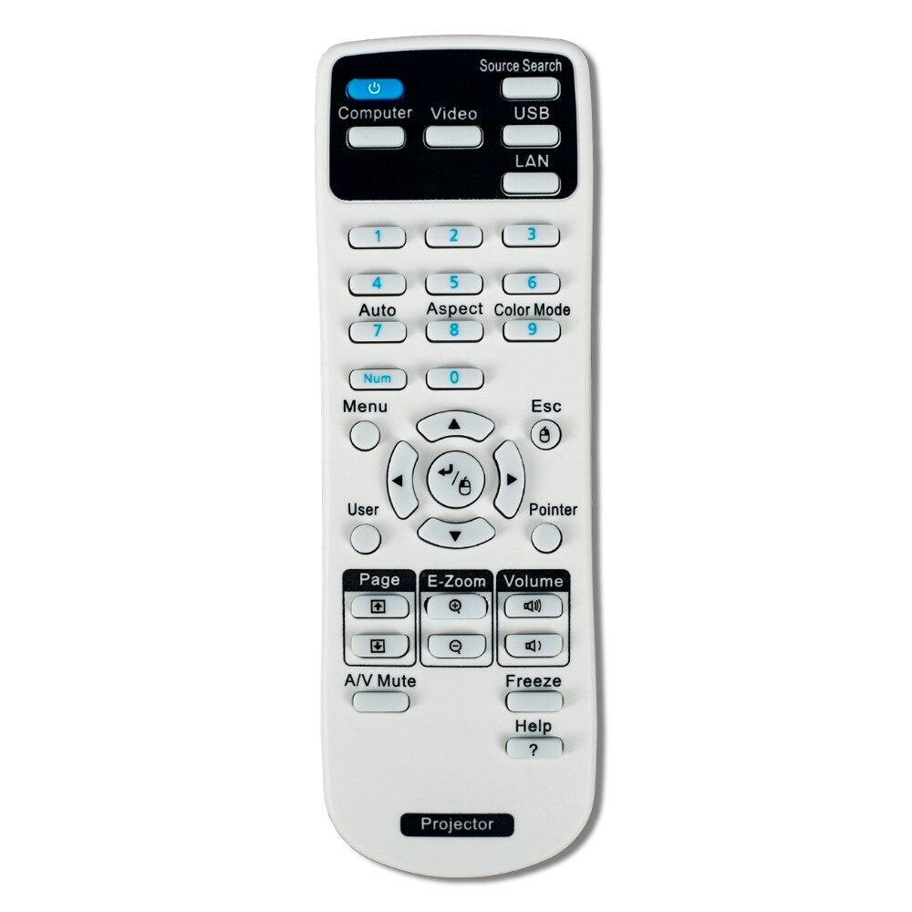1 шт., проектор с дистанционным управлением, 154720001, используйте для epson EB-C30XE EB-30XE EB-C28SH eb-x11 EB-S18 EB-S4
