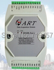 FREE SHIPPING DAM-3601 8 channel DS18B20 digital temperature input digital signal acquisition module