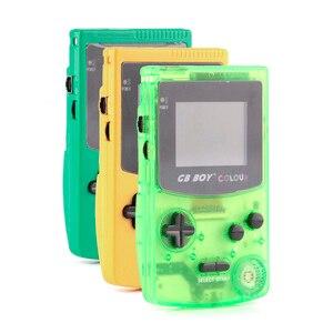 """Image 3 - GB ילד צבע צבע כף יד משחק נגן 2.7 """"נייד קלאסי משחק קונסולת קונסולות עם תאורה אחורית 66 משחקים מובנים"""