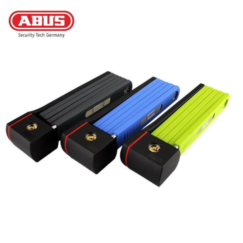 ABUS Profession Bike Ride Cycle Anti-theft Foldable Lock Bicycle Riding Cycle Fold Lock Security Anti-Theft Steel Bicycle Lock allblue slugger 65sp professional 3d shad fishing lure 65mm 6 5g suspend wobbler minnow 0 5 1 2m bass pike bait fishing tackle