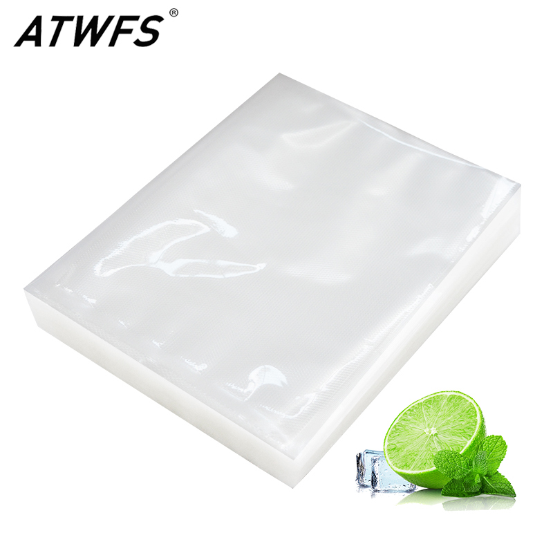 100pcs/lot Vacuum Bag Food Vacuum Sealer For Food Sous Vide Packing Sachet Plastique Machine Packaging Bags