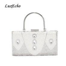 LuxEcho ручной сумка для ужина с бриллиантом Женская сумка невесты платье жемчужное сумка для банкета модная вечерняя сумка