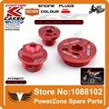 Cnc distribución del motor filtro de aceite enchufe Fit Kit CRF150R CRF250R CRF450R CRF450X Motorcycle Dirt Bike Motocross envío gratis