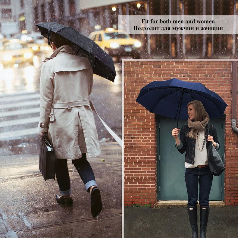 Wind Resistant Folding  Umbrella