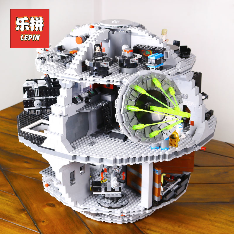 Lepin Starwars 05035 Star Plan Wars the New Death Star Building Blocks Compatible Legoings Movie Children Funny Toy Gift 10188