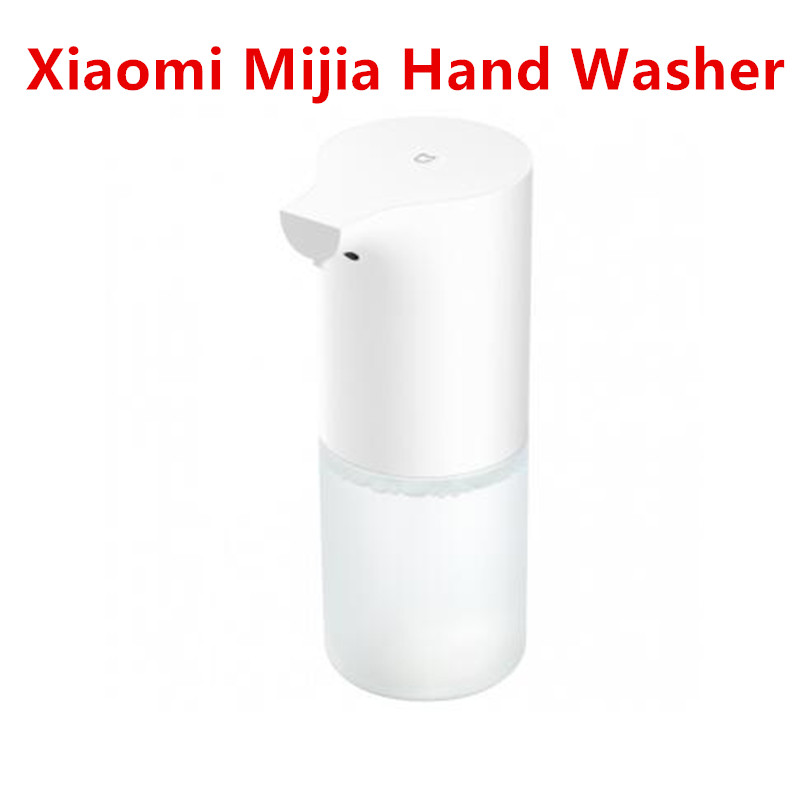 все цены на Pre-Sale New Xiaomi Mijia Auto Induction Foaming Hand Washer Wash Automatic Soap 0.25s Infrared Sensor For Smart Homes онлайн