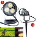 NEW 9W LED Lawn Light Lamp Outdoor Waterproof IP65 Warm white/White Lawn Spot Flood Lighting Garden Spot Light 12V/AC 85-265V
