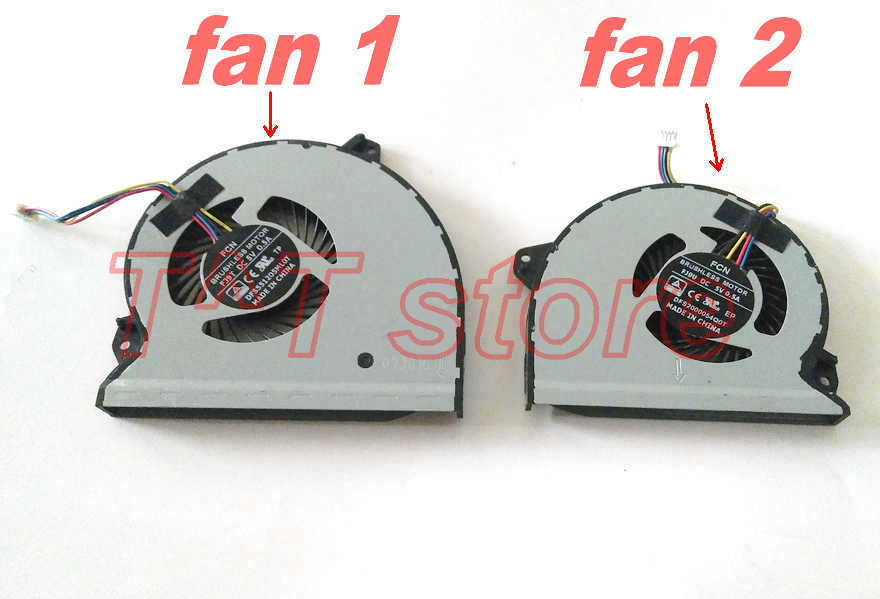 Original For Asus ROG Strix GL702VM S7VM Laptop CPU GPU Cooling Fan Cooler Test Good Free Shipping