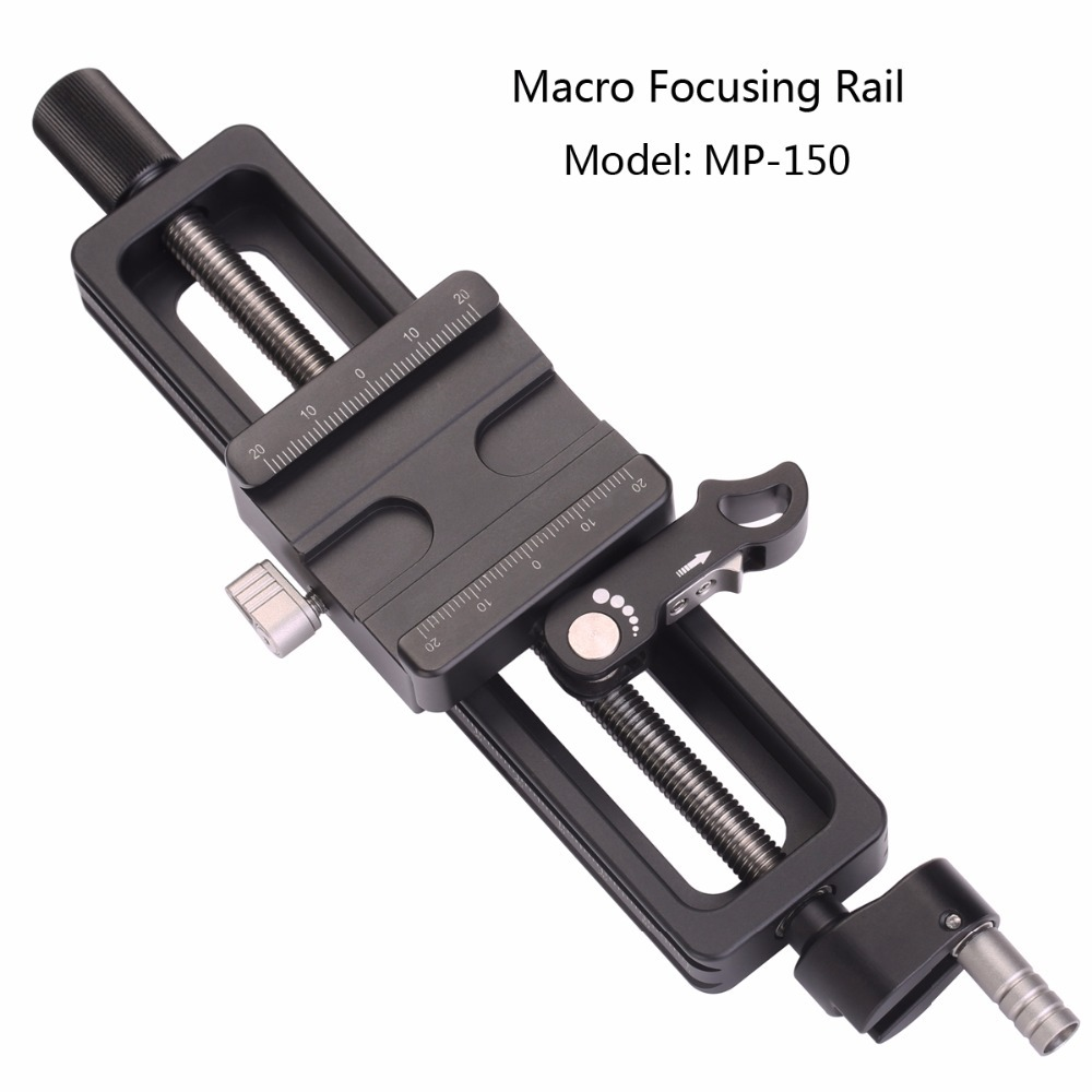 Leofoto MP-150 Camera Accessories Tripod Head Fotografie Macro Focusing Rail setto leofoto mp 150 camera accessories tripod head photography macro fotografie macro focusing rail