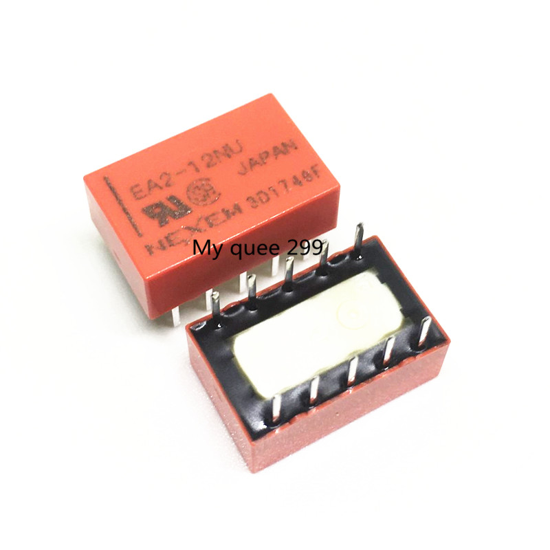 Free Shipping 100 NEW 100pcs lot EA2 12 EA2 12NU 10 pin 1A can replace Matsushita
