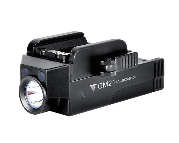 Tactique Arme légère Pistolet Pistolet chargeur usb léger lumière Compact lampe de Poche Mini Pistolet Lumière Rapide Détacher Pistolet Lampe de Poche