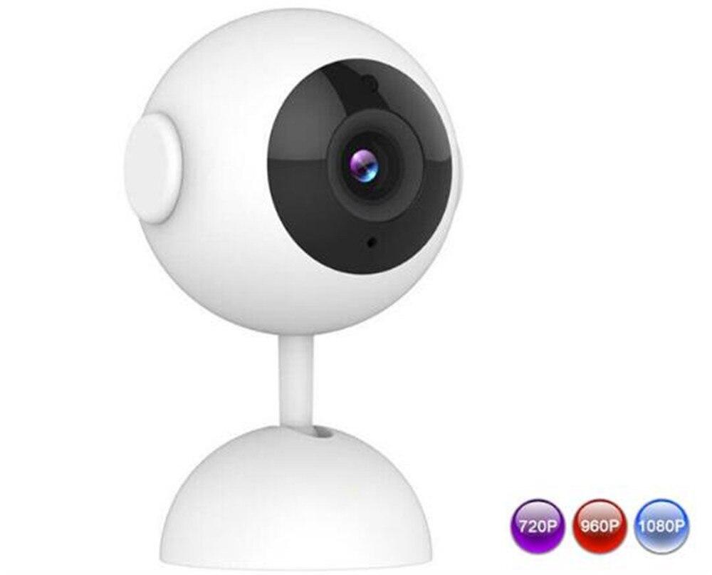 Wireless Panoramic VR Camera Intercom Baby Monitor 720/960/1080P Optional