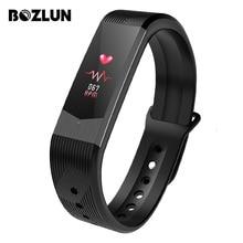 BOZLUN 3D UI Smartwatch Esporte Ao Ar Livre Relógios Das Mulheres Dos Homens de Luxo Relogio Inteligente Pulseira Inteligente Relógio Lembrete Mensagem B30