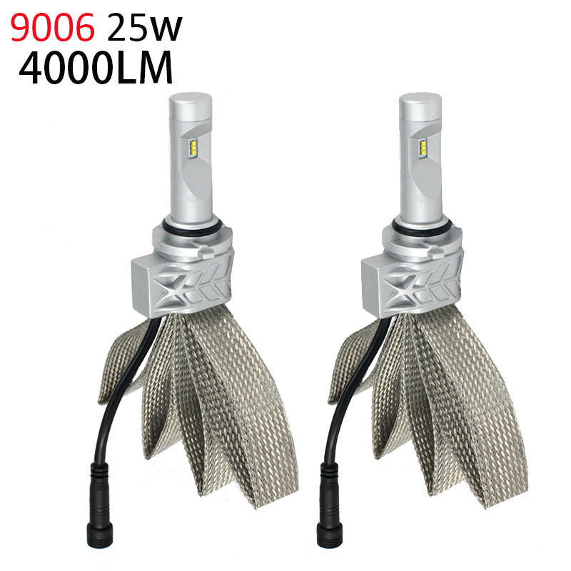 9006 HB4 LED Headlight Bulbs 50w 8000Lm Fanless Auto Headlamp Conversion Kit for CHEVROLET CADILLAC BUICK