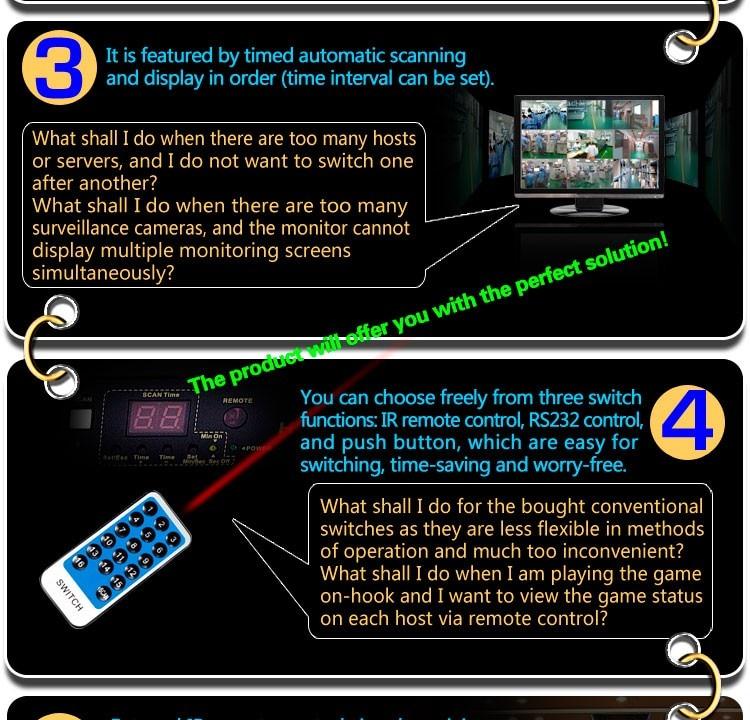 Computer & Büro Kvm-switches Ckl 16 Port Auto Hdmi Switch 16 In 1 Mit Ir-fernbedienung Rs232-steuerung Unterstützung 3d 1080 P Edid Automatische Erkennung Rackmount Ckl-161h