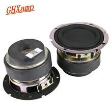 GHXAMP 2.75 インチフルレンジスピーカー Bluetooth スピーカー DIY 4Ohm 15 ワットコンピュータスピーカー Mid 低音サウンドボックス 2 個