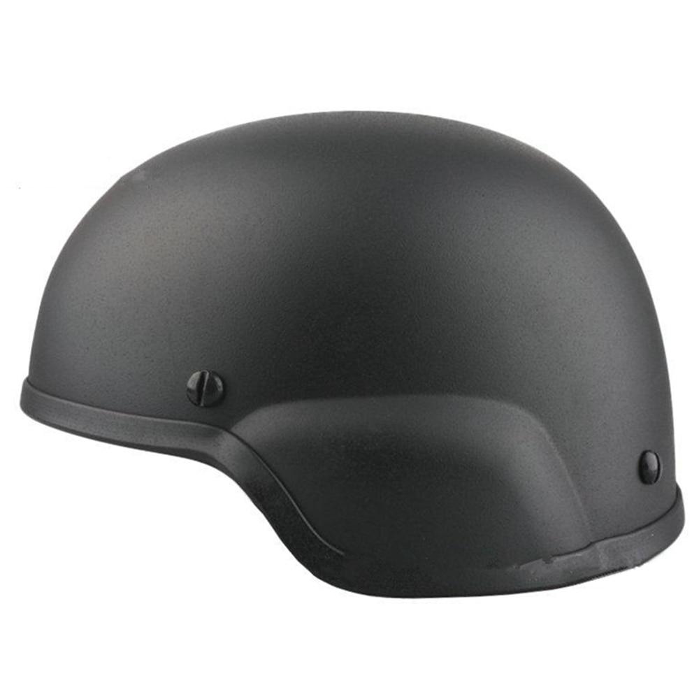 Airsoft Military Helmet Mich 2000 ABS Plastic Helmet Type Black Khaki Sand OD