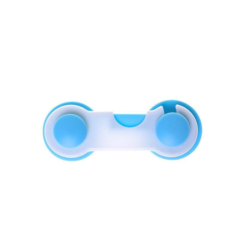10 stks/pak Multi-functionele Leuke Baby Dubbele Snap Haakse Lock Kast Lock Voor Kinderen Veiligheid Kids Care