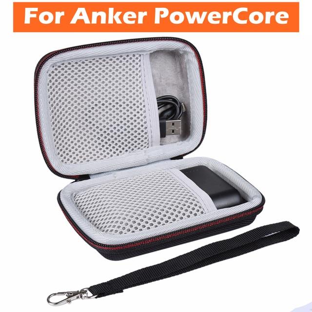 Funda protectora de almacenamiento portátil bolsa de transporte bolsa para ANKER PowerCore 10000 mAh móvil cargador Protector