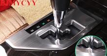 BJMYCYY Automóvil decoración del panel de engranajes de acero inoxidable para Toyota Camry 2015 estilo accesorios autos del coche