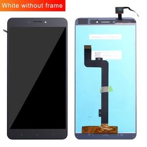 Image 1 - Dla Xiao mi mi Max wyświetlacz LCD ekran dotykowy Digitizer zgromadzenie dla Xiao mi mi Max 2 LCD Max2 Max 3 ekran wymiana czarny biały