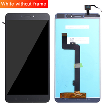 Voor Xiao mi mi max lcd Touch Screen Digitizer Vergadering Voor Xiao Mi Mi max 2 lcd Max2 Max 3 Screen Vervanging Zwart Wit