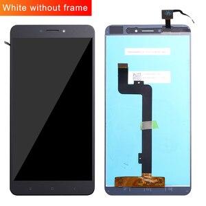 Image 1 - Voor Xiao mi mi max lcd Touch Screen Digitizer Vergadering Voor Xiao Mi Mi max 2 lcd Max2 Max 3 Screen Vervanging Zwart Wit