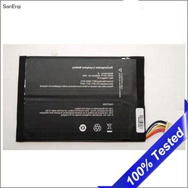 Batterie pour Cube I7 manuscrit & MIX PLUS tablette PC Batterie Bateria Rechargeable Kubi i8/C6116/I8116 Batterie 4500 mAh SanErqi