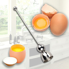 New Stainless Steel Raw Eggshell Topper Cutter Egg Opener Kitchen Tools Kitchen Gadgets Batir los huevos Herramientas Hot Sale hot sale kitchen cooking tool egg cutter stainless steel shell opener