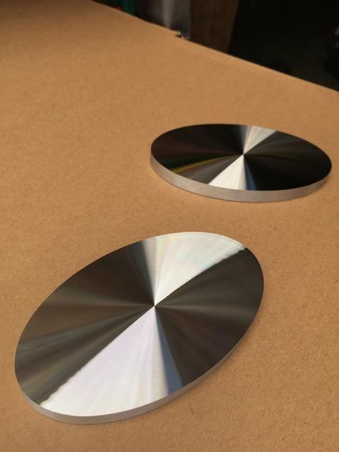 Free Shipping 12cm Bracket Furniture Leg Coffee Glass Table Leg Support  Rods Oval Aluminum Pie Bracket
