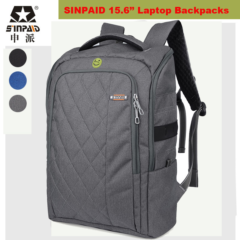 ФОТО 2017 Brand Laptop Backpack 15.6 Student College Backpack Men Women Mochila Masculina Bag Quality Designer Laptop Bag Back packs