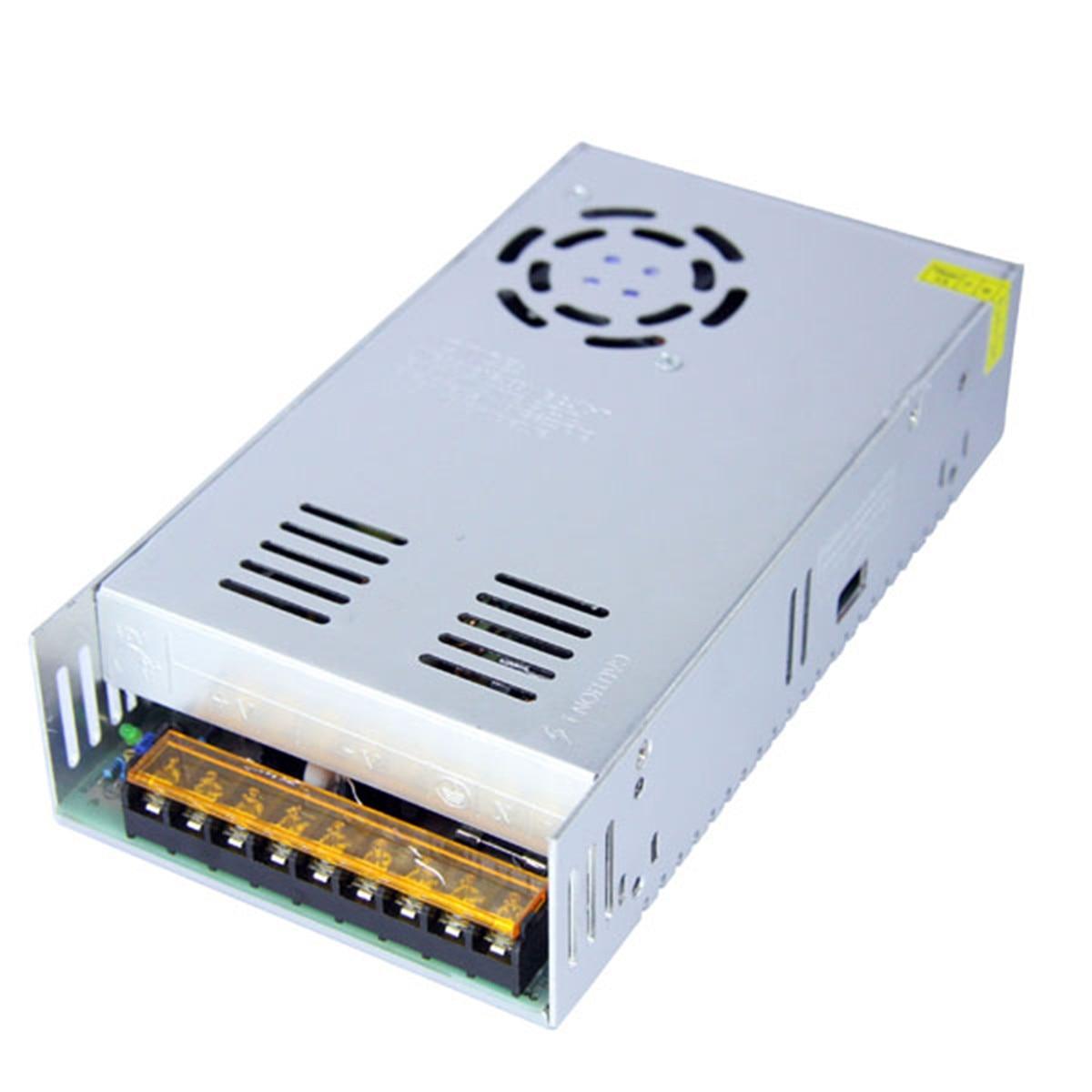 AC 85 265V к DC 12V 30A 360W переключатель питания Трансформатор Адаптер для светодиодной полосы света