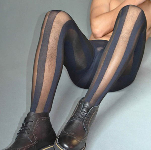 Guy awesome! Men in pantyhose club she