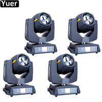 4Pcs/Lot NEW Super Beam 200W 5R Moving Head Light Sound Active 16/20 Channels For DJ Club Nightclub Party Disco Stage Lights