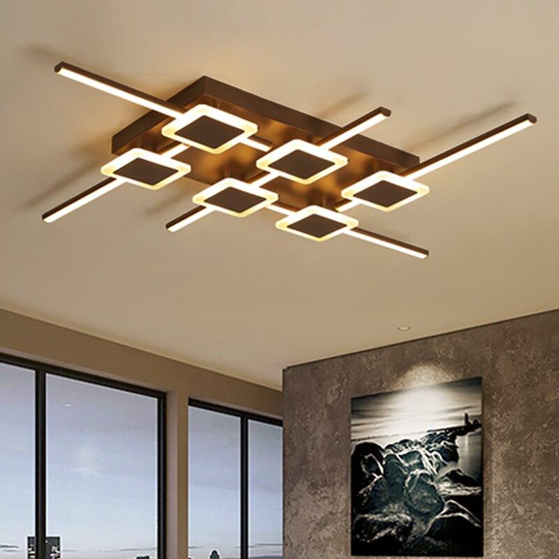 Modern LED Chandelier Loft Illumination Nordic Luminaire Home Decor Lighting For Living Room Bedroom Ceiling Chandelier
