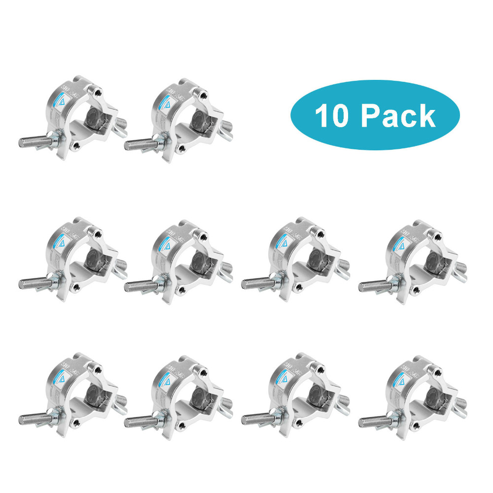 10 Pack LOAD 75 kg O Clamp Hook Mount For DJ Party Stage Lights <font><b>Pipe</b></font> 32-35mm