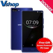 Оригинал DOOGEE Mix 4 г мобильные телефоны android 7.0 4 ГБ ОЗУ 64 ГБ ROM восьмиядерный смартфон 720 P двойной задняя камера 5.5 дюймов сотовый телефон