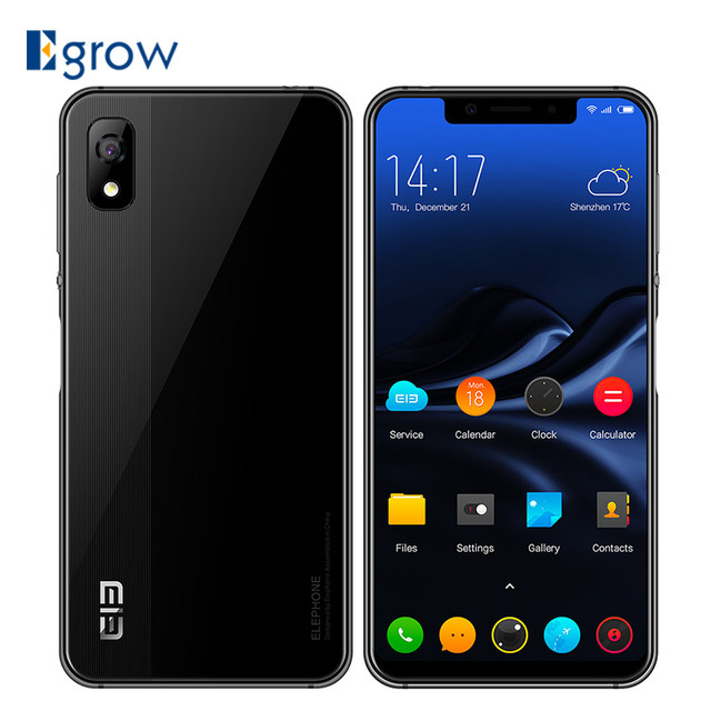 Elephone A4 5.85'' HD+ 18:9 Screen Smartphone Android 8.1 3GB 16GB MT6739 Quad Core Mobile phone 3000mAh Fingerprint Cell phones